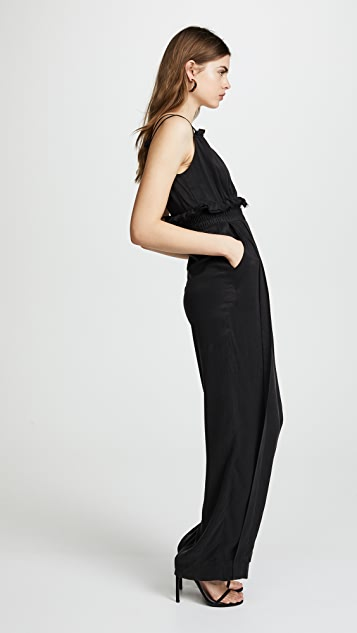 KENDALL + KYLIE Ruched Jumpsuit