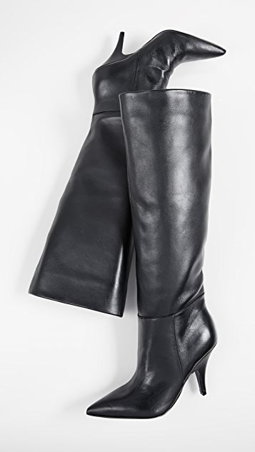 Calla Point Toe Boots