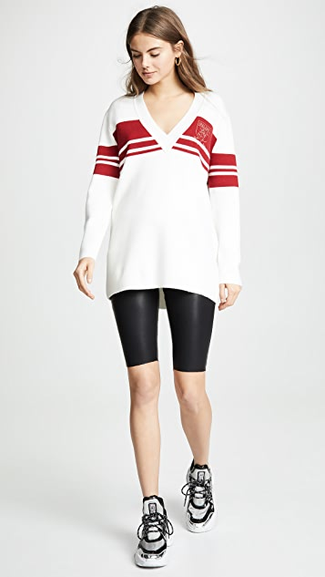 KENDALL + KYLIE Long Sleeve V Neck Sweater