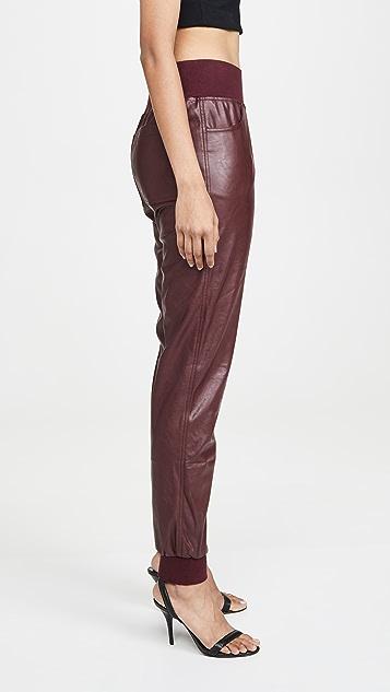 KENDALL + KYLIE Cobain Vegan Leather Pants