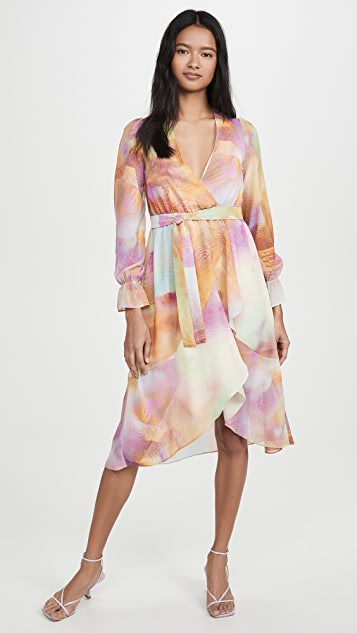 KENDALL + KYLIE Front Wrap Duster Dress