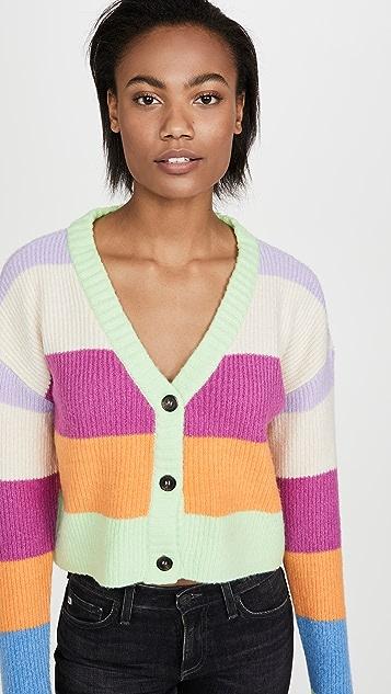KENDALL + KYLIE 条纹毛衣