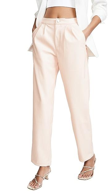 KENDALL + KYLIE Vegan Leather Pants