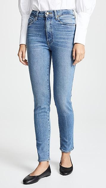 Khaite Vanessa 高腰直脚牛仔裤