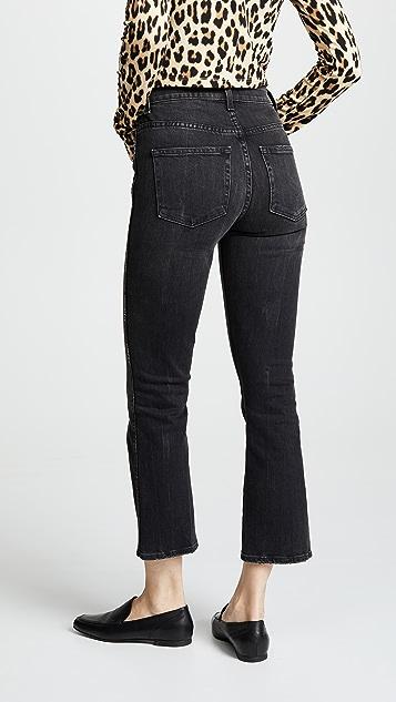 Khaite Укороченные расклешенные джинсы Benny