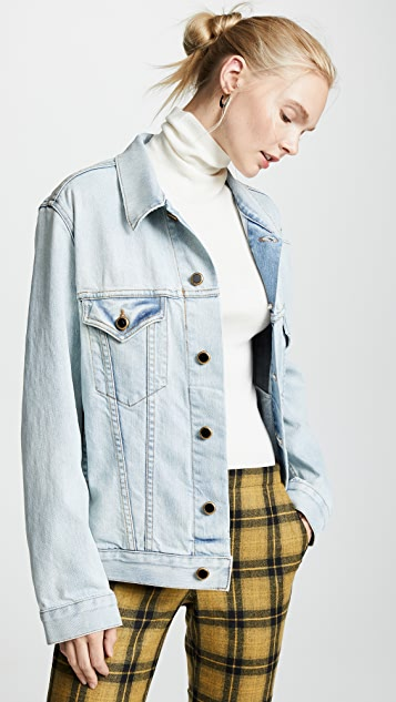 1a2971277e Khaite Cate Oversized Denim Jacket
