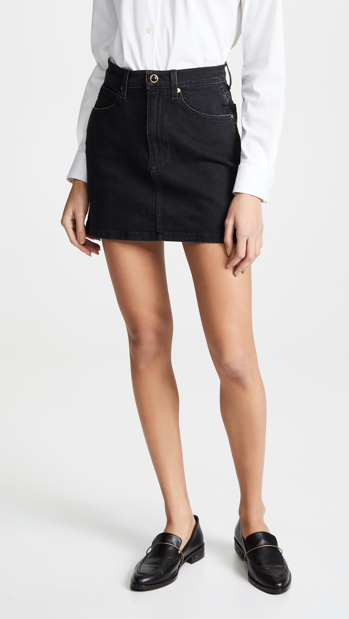 Khaite Dolly Miniskirt