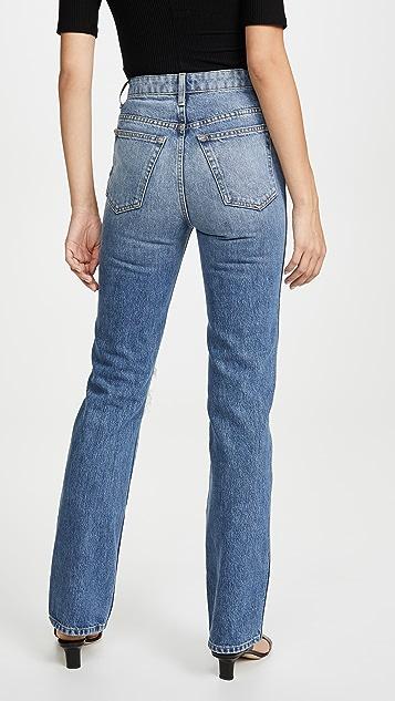Khaite Danielle 高腰牛仔裤