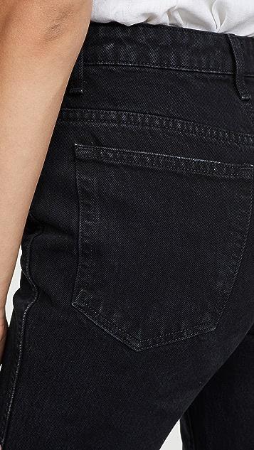 Khaite Danielle Stovepipe 牛仔裤