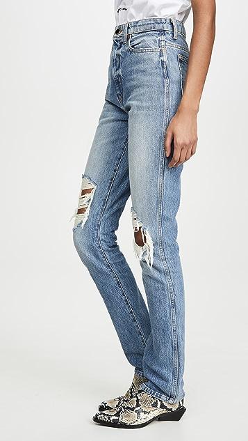 Khaite Узкие джинсы Daria