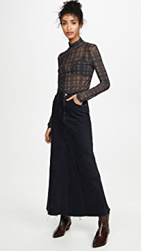Magdalena Reconstructed Long Skirt