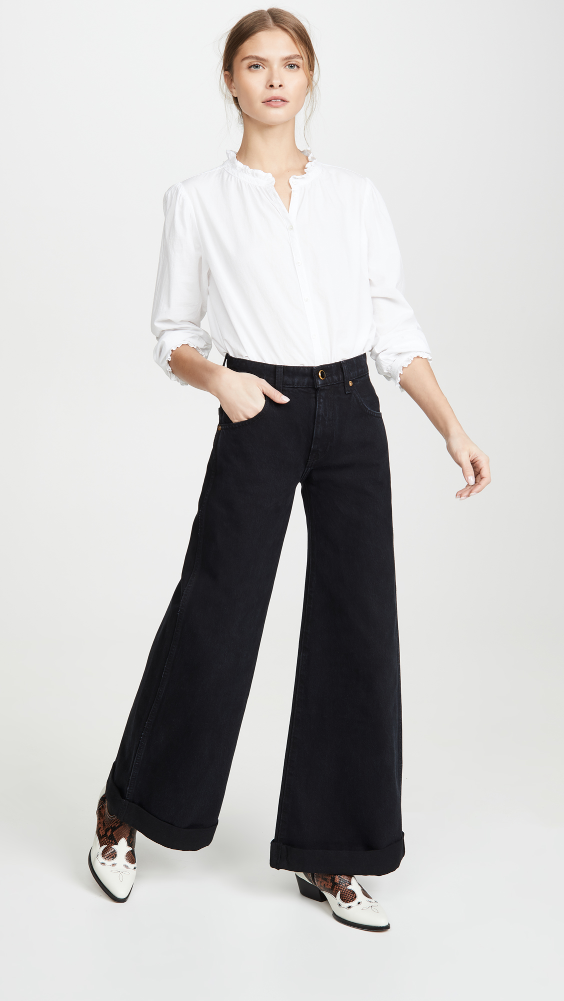 Khaite Noelle Jeans