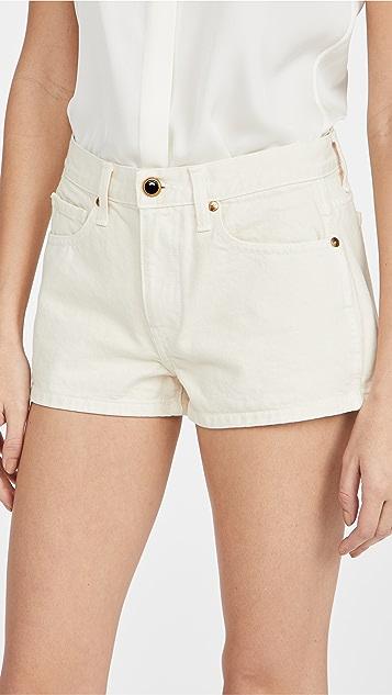 Khaite Charlotte Shorts