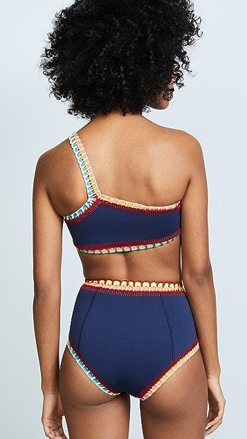 Kiini Tasmin One Shoulder Bikini Top
