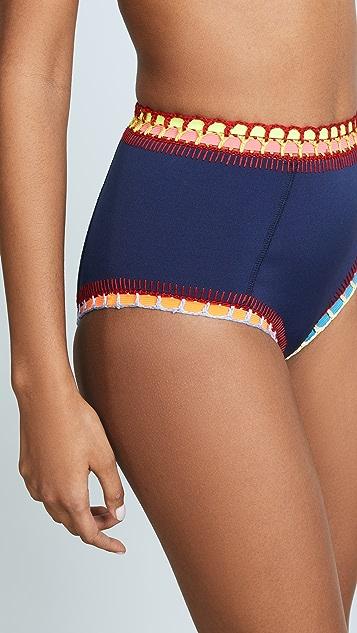 Kiini Tasmin High Waisted Bikini Bottoms