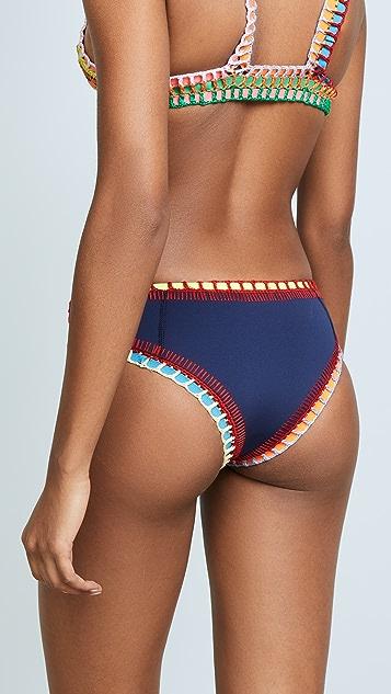 Kiini Tasmin Boy Short Bikini Bottoms