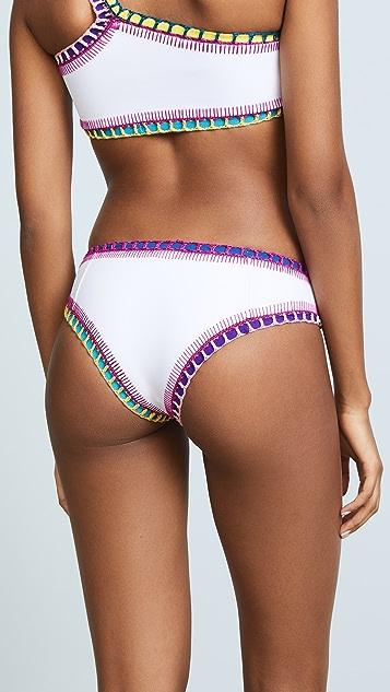 Kiini Yaz Boy Short Bikini Bottoms
