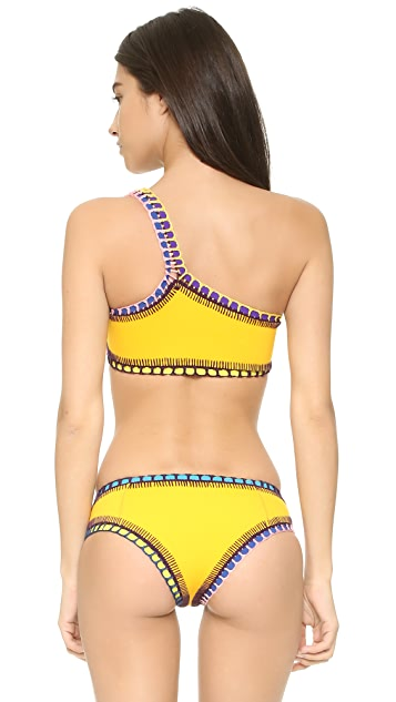 Kiini Ro One-Shoulder Bikini Top