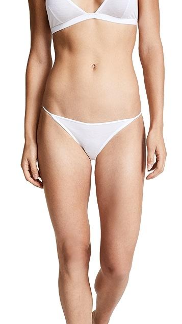 Kiki De Montparnasse 修身比基尼短裤