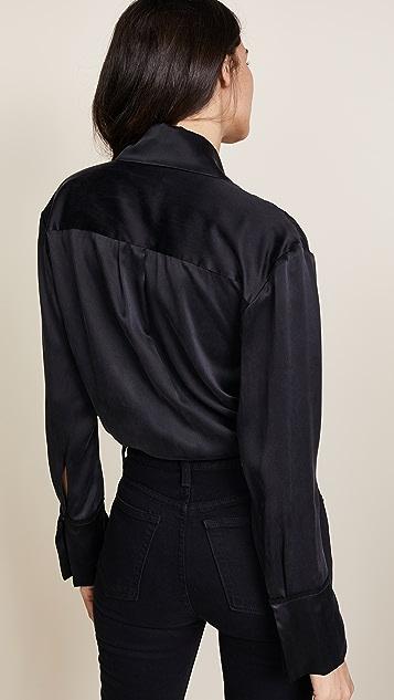 Kiki De Montparnasse Wrap Bodysuit