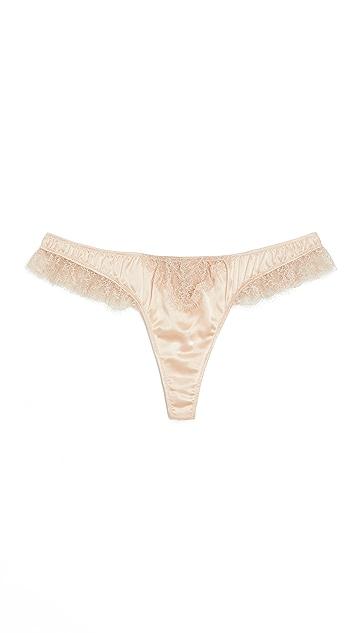 Kiki De Montparnasse Icon 蕾丝丁字裤