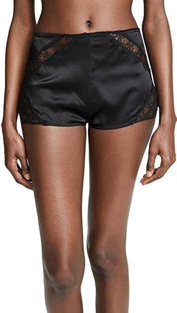 Kiki De Montparnasse Icon Lace High Waist Shorts