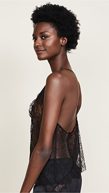 Kiki De Montparnasse All Over Lace T-Back Cami