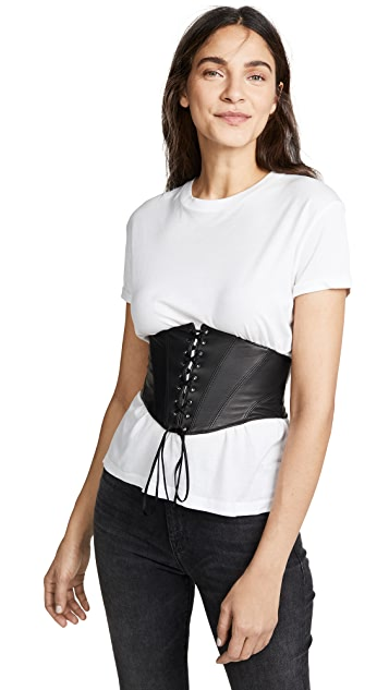 Kiki De Montparnasse Leather Cincher