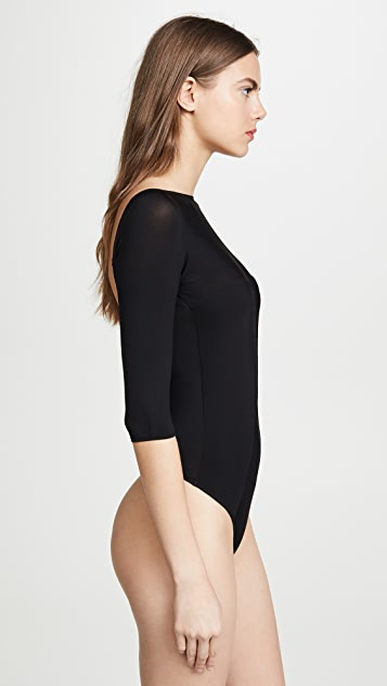 Kiki De Montparnasse Backless Thong Bodysuit