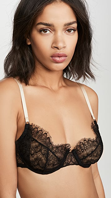 Kiki De Montparnasse 整版蕾丝半罩杯文胸