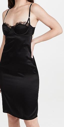 Kiki De Montparnasse - 蕾丝镶嵌合身连衣裙