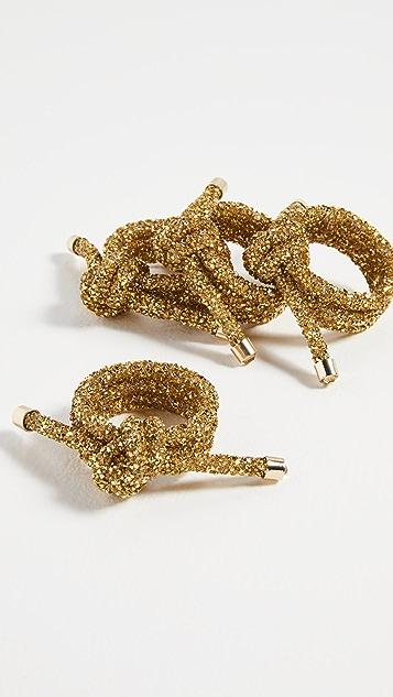 Kim Seybert Glam Knot Napkin Rings