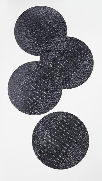 Kim Seybert Croco Placemat Set of 4
