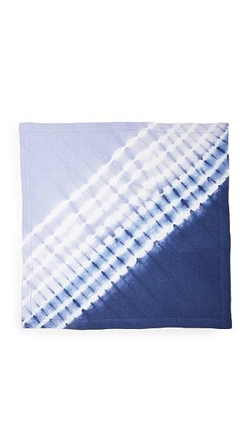 Kim Seybert 双色染色手帕巾