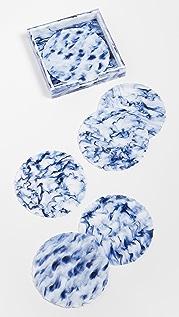 Kim Seybert Waves Coasters