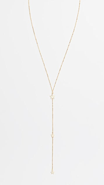 Kindred Star Lariat Necklace
