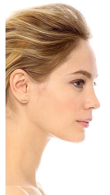 Kismet by Milka Taken Stud Single Earring
