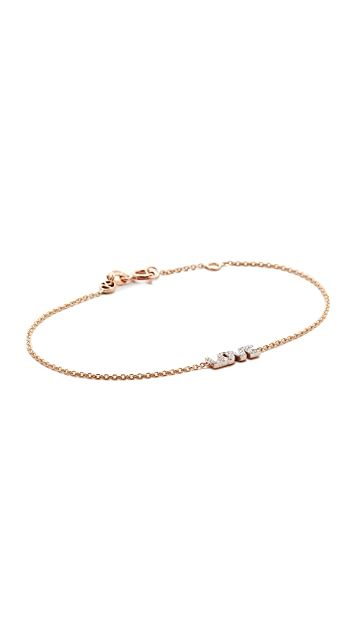 Kismet by Milka 14k Rose Gold Love Bracelet