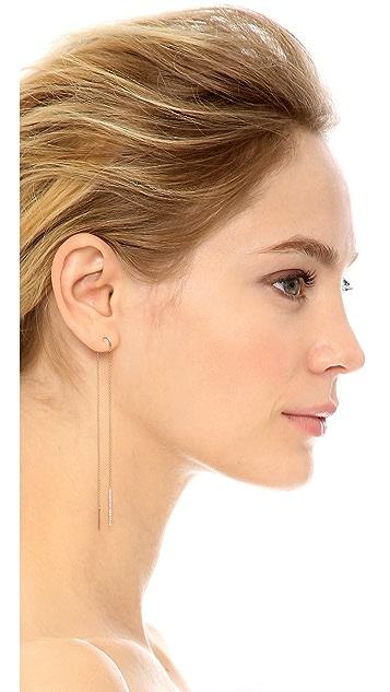 Kismet by Milka 14k Gold Lumiere Single Earring