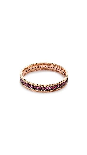 Kismet by Milka 14k Rose Gold Eternity Band Ring