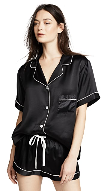 KISSKILL Silk Short PJ Set