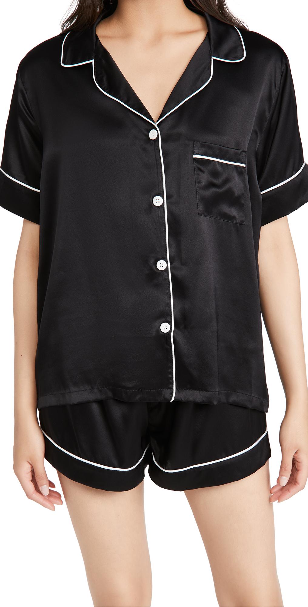 Silk Shorts PJ Set