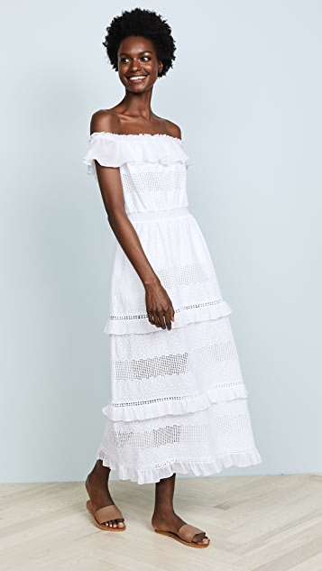 kisuii Off Shoulder Maxi Dress
