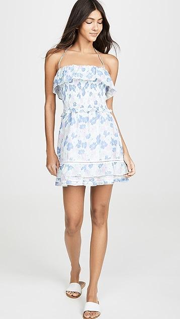 kisuii Cosima Smocked Dress
