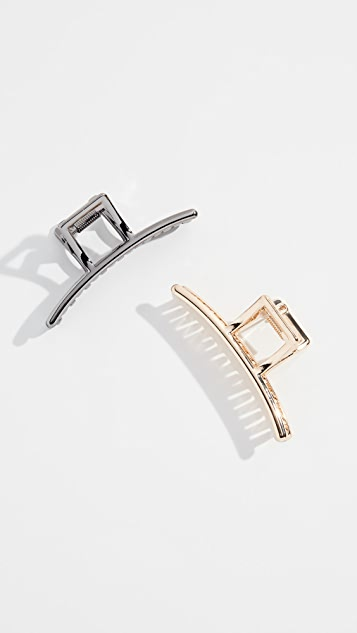 Kitsch x SHOPBOP Bar Claw Clip Set