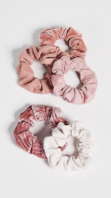 Kitsch Бархатные резинки для волос