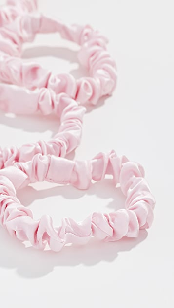 Kitsch Silk Scrunchies
