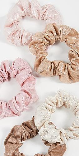 Kitsch - Metallic Scrunchies