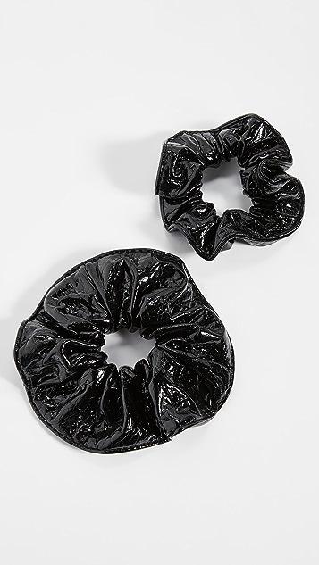 Kitsch x Justine Marjan 漆面发带套装