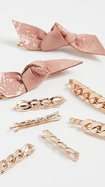 Kitsch x Justine Marjan Bobby Pin Set